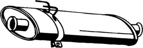 ASMET 10090 Средний глушитель выхлопных газов