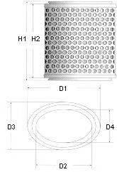 CHAMPION W206606 Воздушный фильтр