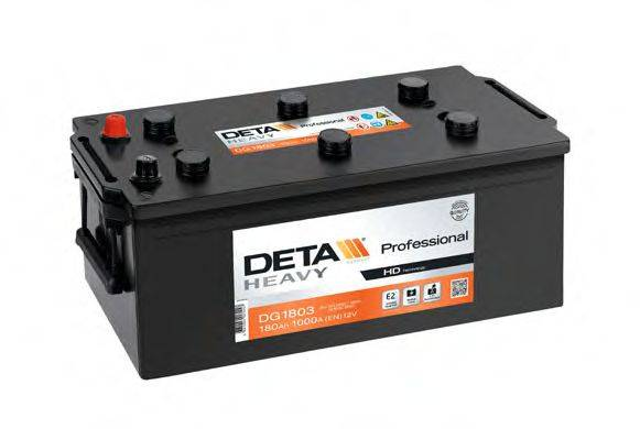 DETA DG1803 Стартерная аккумуляторная батарея; Стартерная аккумуляторная батарея