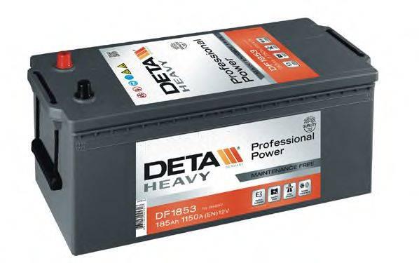 DETA DF1853 Стартерная аккумуляторная батарея; Стартерная аккумуляторная батарея