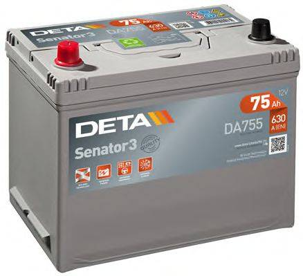 DETA DA755 Стартерная аккумуляторная батарея; Стартерная аккумуляторная батарея