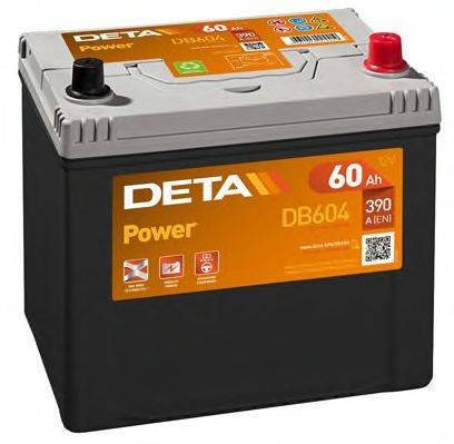 DETA DB604 Стартерная аккумуляторная батарея; Стартерная аккумуляторная батарея