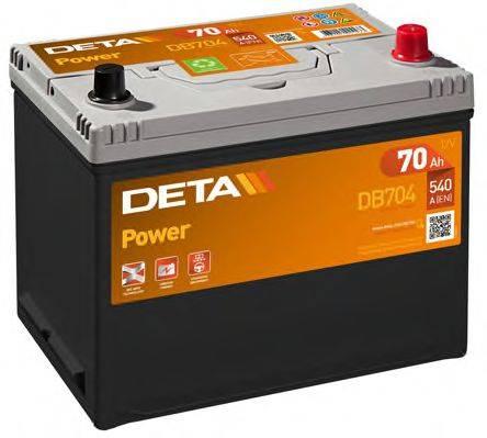 DETA DB704 Стартерная аккумуляторная батарея; Стартерная аккумуляторная батарея