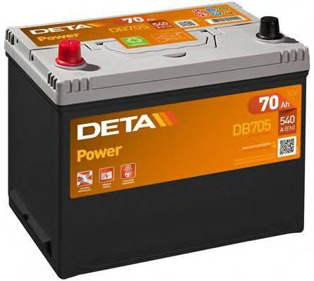 DETA DB705 Стартерная аккумуляторная батарея; Стартерная аккумуляторная батарея