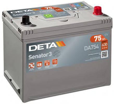DETA DA754 Стартерная аккумуляторная батарея; Стартерная аккумуляторная батарея
