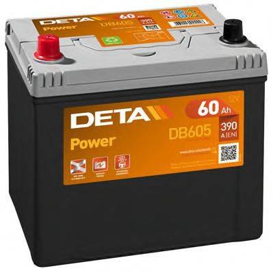 DETA DB605 Стартерная аккумуляторная батарея; Стартерная аккумуляторная батарея