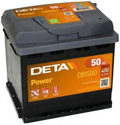 DETA DB500 Стартерная аккумуляторная батарея; Стартерная аккумуляторная батарея