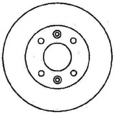 STOP 561237S Тормозной диск