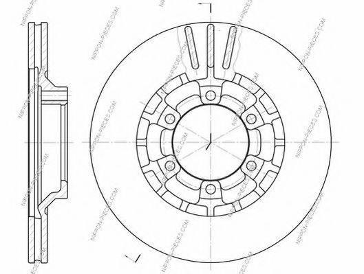 NPS M330I20 Тормозной диск