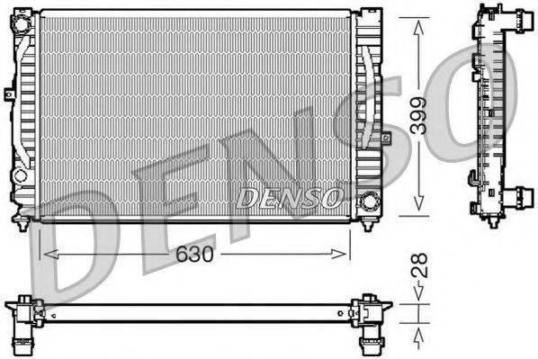 NPS DRM02032 Радиатор, охлаждение двигателя