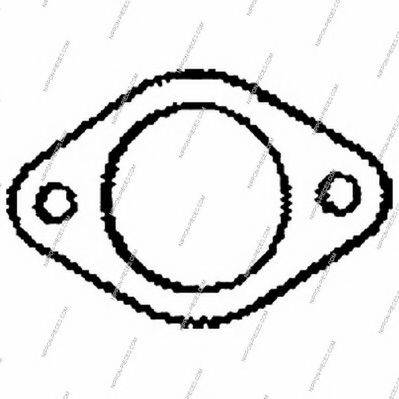 NPS M433A01 Уплотнительное кольцо, труба выхлопного газа
