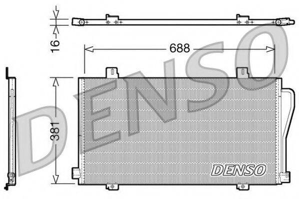 NPS DCN23017 Конденсатор, кондиционер
