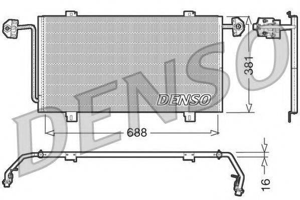 NPS DCN23023 Конденсатор, кондиционер