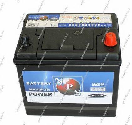 NPS U540L20B Стартерная аккумуляторная батарея