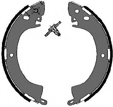 VEMA 84524 Комплект тормозных колодок