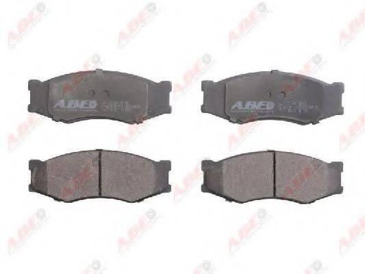 ABE C11011ABE Комплект тормозных колодок, дисковый тормоз