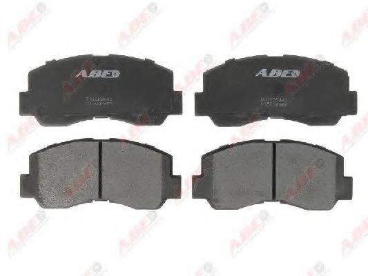 ABE C15002ABE Комплект тормозных колодок, дисковый тормоз