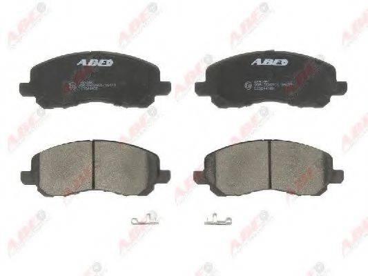 ABE C15044ABE Комплект тормозных колодок, дисковый тормоз