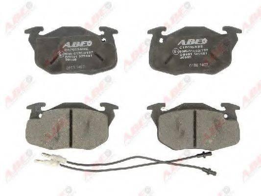 ABE C1P005ABE Комплект тормозных колодок, дисковый тормоз