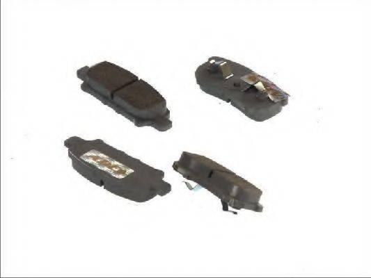 ABE C25012ABE Комплект тормозных колодок, дисковый тормоз