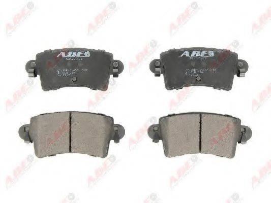 ABE C2X011ABE Комплект тормозных колодок, дисковый тормоз