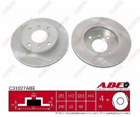 ABE C31027ABE Тормозной диск