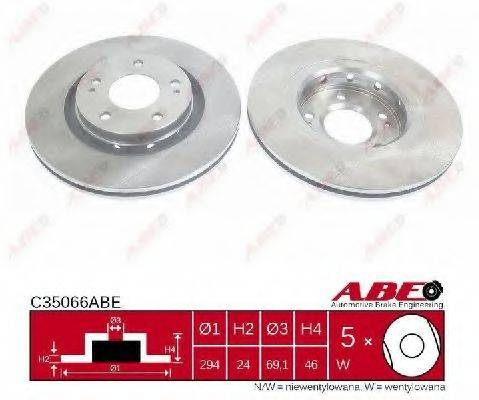 ABE C35066ABE Тормозной диск