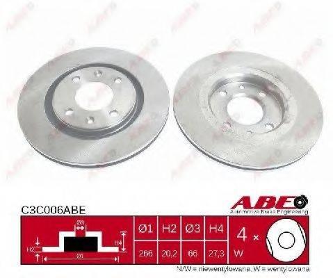 ABE C3C006ABE Тормозной диск
