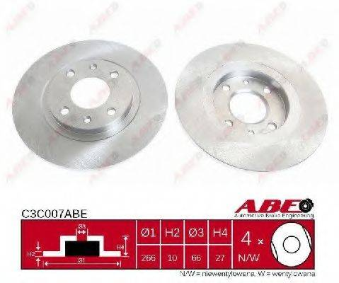 ABE C3C007ABE Тормозной диск
