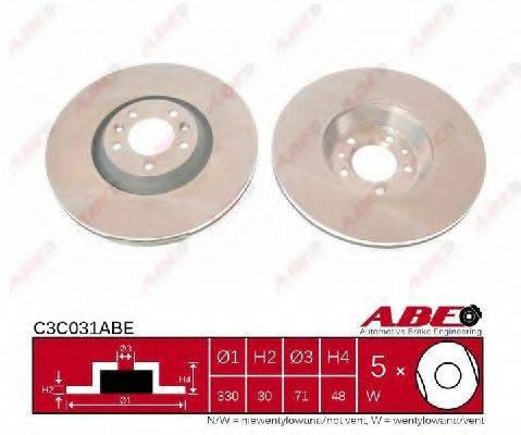 ABE C3C031ABE Тормозной диск