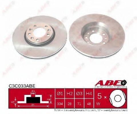 ABE C3C033ABE Тормозной диск