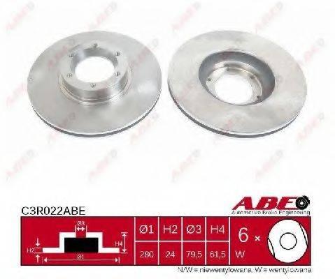 ABE C3R022ABE Тормозной диск