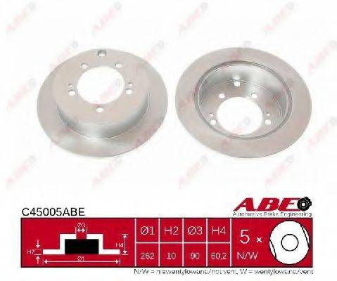 ABE C45005ABE Тормозной диск
