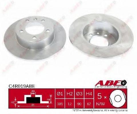 ABE C4R019ABE Тормозной диск