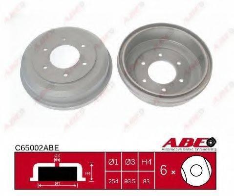ABE C65002ABE Тормозной барабан