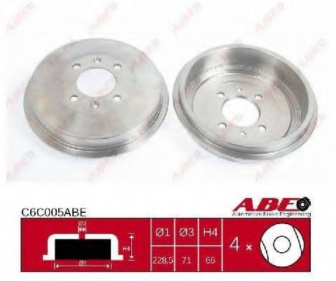 ABE C6C005ABE Тормозной барабан