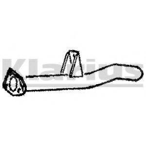 KLARIUS CL116L Труба выхлопного газа