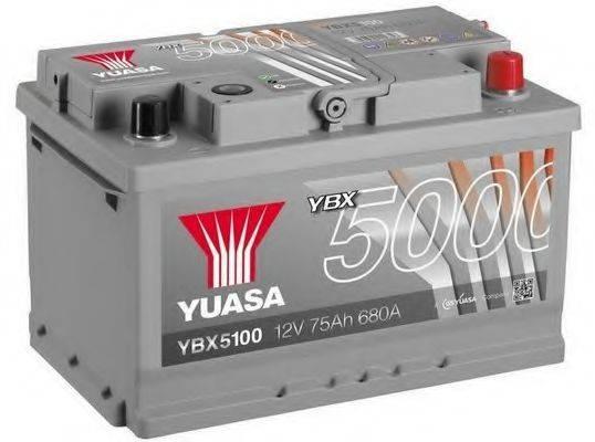 YUASA YBX5100 Стартерная аккумуляторная батарея