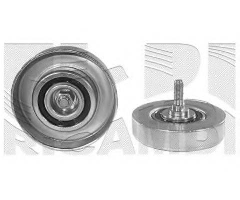KM INTERNATIONAL FI11080 Натяжной ролик, поликлиновой  ремень