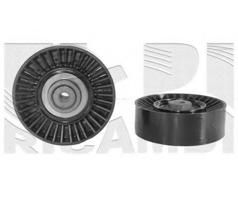 KM INTERNATIONAL FI3340 Натяжной ролик, поликлиновой  ремень