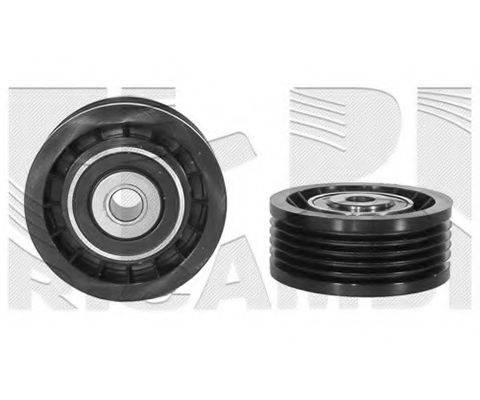 AUTOTEAM A02348 Натяжной ролик, поликлиновой  ремень