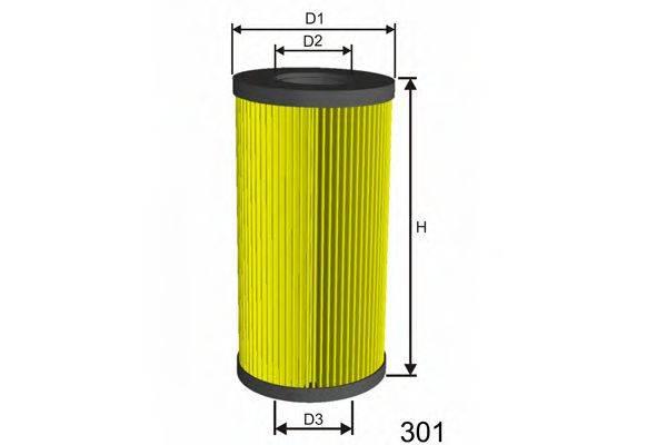 MISFAT L117 Масляный фильтр