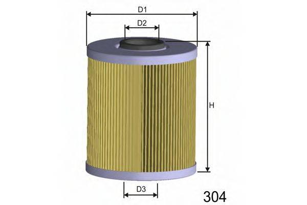 MISFAT F687 Топливный фильтр