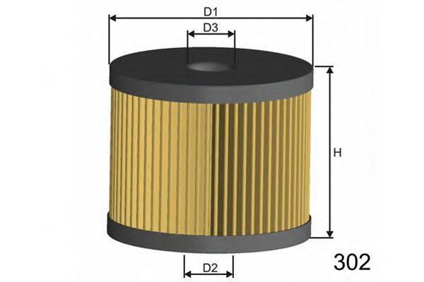 MISFAT L108 Масляный фильтр