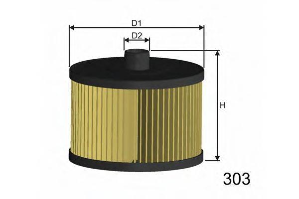 MISFAT F104 Топливный фильтр