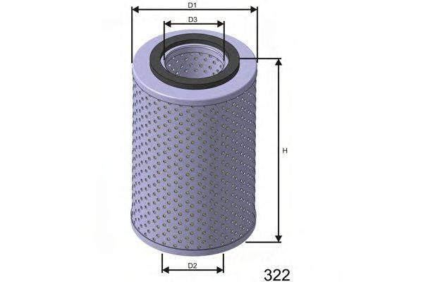 MISFAT L423 Масляный фильтр