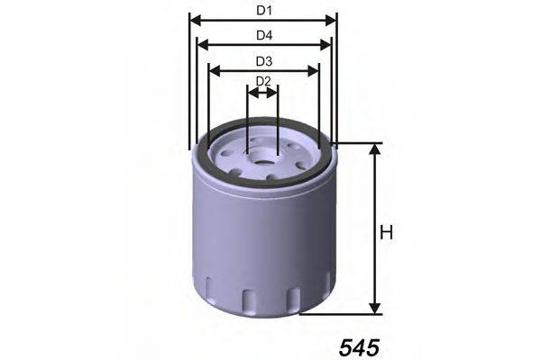 MISFAT Z401 Масляный фильтр