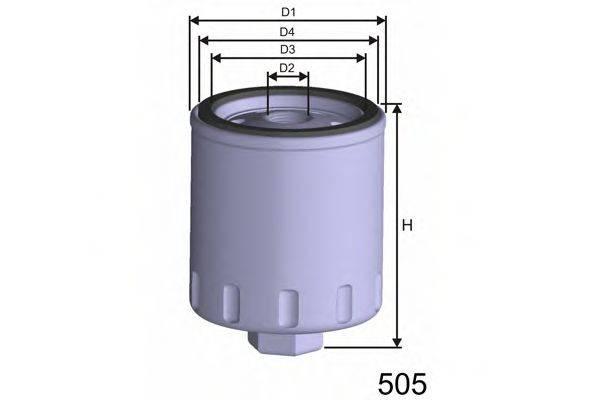 MISFAT Z241 Масляный фильтр