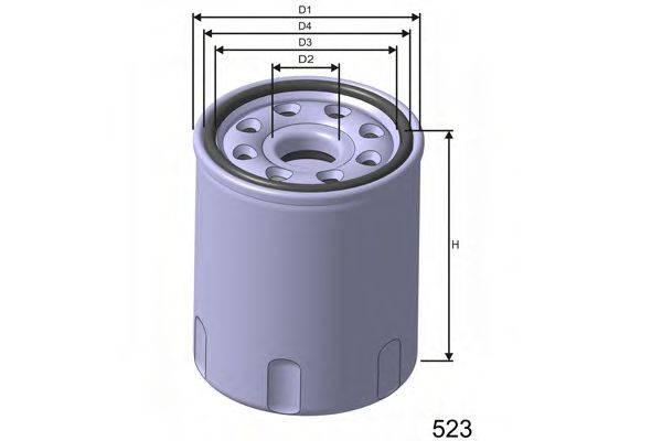 MISFAT Z265 Масляный фильтр