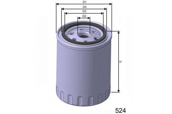 MISFAT Z240 Масляный фильтр